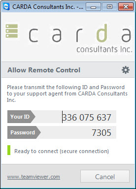 MS Access Teamviewer Launcher – CARDA Consultants Inc